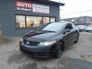 Used 2010 Honda Civic COUPÉ SR for sale in St-Hubert, QC