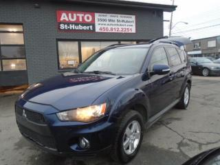 Used 2010 Mitsubishi Outlander 4X4 ** 7 PLACES ** for sale in St-Hubert, QC