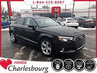 Used 2017 Audi A3 2.0T KOMFORT QUATTRO **38 065 KM** for sale in Charlesbourg, QC
