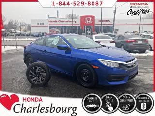 Used 2016 Honda Civic LX COUPE **UN PROPRIÉTAIRE** for sale in Charlesbourg, QC
