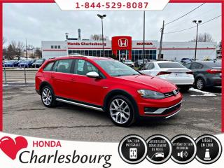 Used 2017 Volkswagen Golf Alltrack 4 MOTION **PANORAMIQUE**TOUT ÉQUIPÉ** for sale in Charlesbourg, QC