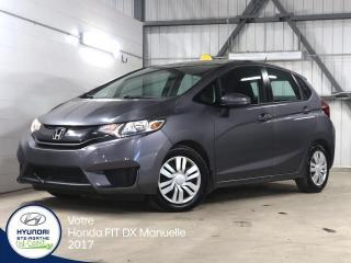 Used 2017 Honda Fit DX MANUELLE for sale in Val-David, QC