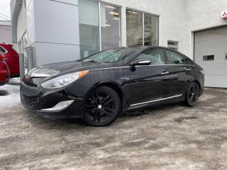 Used 2013 Hyundai Sonata Hybrid Berline 4 portes Limited for sale in Ste-Agathe-des-Monts, QC