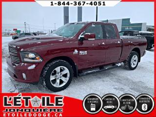 Used 2017 RAM 1500 Cabine quad 4x4 V8 Sport for sale in Jonquière, QC