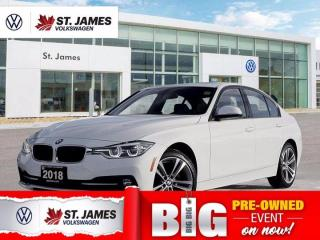Used 2018 BMW 3 Series 330i xDrive, Clean Carfax, Heated Seats, Backup Camera for sale in Winnipeg, MB