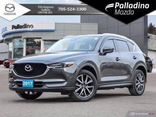 Used 2017 Mazda CX-5 GT - BOSE SOUND - ONE OWNER - HEATED SEATS AND WHEEL for sale in Sudbury, ON