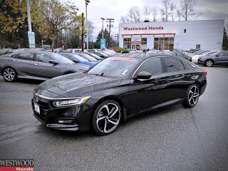 Used 2019 Honda Accord Sedan SPORT 2.0 for sale in Port Moody, BC