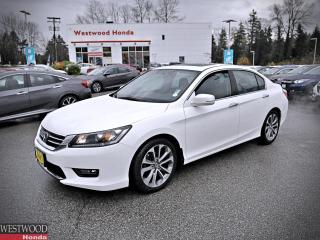Used 2015 Honda Accord Sedan Sport for sale in Port Moody, BC