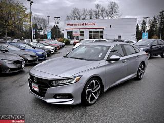 Used 2018 Honda Accord Sedan Sport for sale in Port Moody, BC