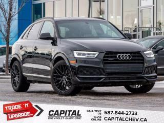 Used 2018 Audi Q3 Technik for sale in Calgary, AB