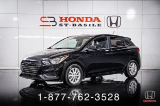 Used 2020 Hyundai Accent PREFERRED + HATCH + A/C + CAMERA + WOW! for sale in St-Basile-le-Grand, QC