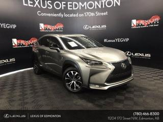 Used 2016 Lexus NX 200t F SPORT SERIES 3 for sale in Edmonton, AB