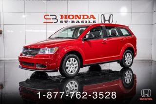 Used 2015 Dodge Journey SE PLUS + BAS KILOS + A/C + CRUISE + WOW for sale in St-Basile-le-Grand, QC