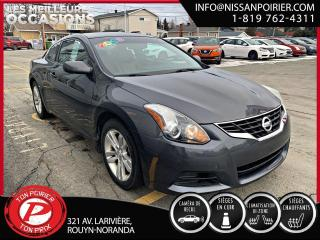Used 2013 Nissan Altima 2,5 S coupe for sale in Rouyn-Noranda, QC