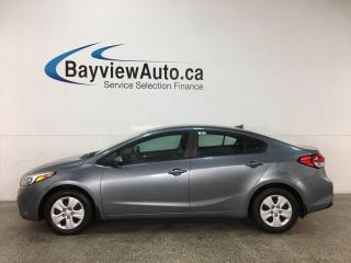 Used 2017 Kia Forte LX - 6SPD! PWR GROUP! for sale in Belleville, ON