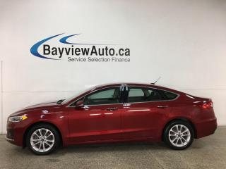 Used 2019 Ford Fusion Energi SEL - ONLY 15,000KMS! SYNC! REVERSE CAM! ADAPTIVE CRUISE! + MORE! for sale in Belleville, ON