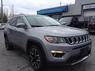 Used 2020 Jeep Compass Limited LEATHER, HEATED SEATS/WHEEL, NAV, WOW!! for sale in Kingston, ON