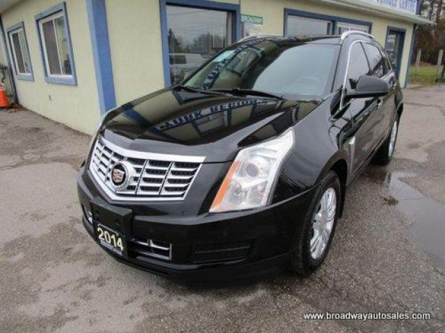 2014 Cadillac SRX LOADED LUXURY EDITION 5 PASSENGER 3.6L - V6.. LEATHER.. HEATED SEATS.. PANORAMIC SUNROOF.. BACK-UP CAMERA.. BLUETOOTH SYSTEM.. BOSE AUDIO..
