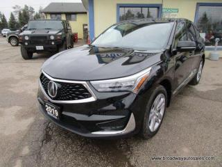 Used 2019 Acura RDX LOADED ALL-WHEEL DRIVE 5 PASSENGER 2.0L - DOHC.. NAVIGATION.. LEATHER.. HEATED/AC SEATS.. BACK-UP CAMERA.. PANORAMIC SUNROOF.. BLUETOOTH SYSTEM.. for sale in Bradford, ON