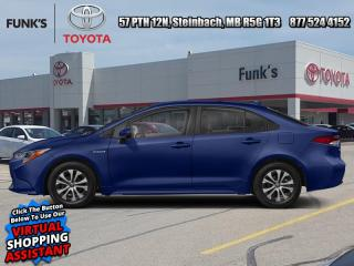 New 2021 Toyota Corolla Hybrid CVT  - Heated Seats for sale in Steinbach, MB