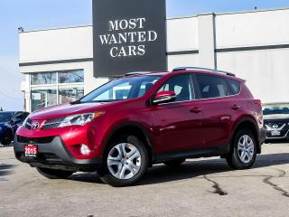 Used 2015 Toyota RAV4 LE|CAMERA|TOUCHSCREEN|B/T|FOG LIGHTS for sale in Kitchener, ON