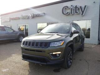 New 2021 Jeep Compass 80th Anniversary | Leather | Heated Seats & Wheel for sale in Medicine Hat, AB
