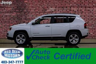 Used 2015 Jeep Compass 4x4 High Altitude Leather Roof Nav BCam for sale in Red Deer, AB