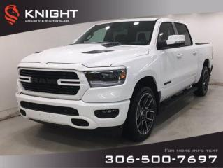 New 2020 RAM 1500 Sport Crew Cab | Leather | Sunroof | Navigation | for sale in Regina, SK