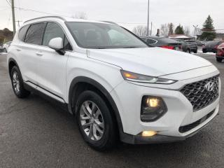 Used 2019 Hyundai Santa Fe ESSENTIAL AWD! Heated Steering and Seats, Distance Pacing Cruise, Lane Departure, BackupCam, CarPlay, Pwr Wind for sale in Kemptville, ON