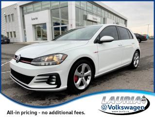 Used 2019 Volkswagen Golf GTI Auto - LOW KMS / 1 OWNER for sale in PORT HOPE, ON