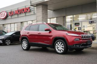 Used 2015 Jeep Cherokee Limited HEATED SEATS | BLUETOOTH | AWD for sale in Cobourg, ON