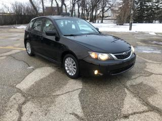 Used 2008 Subaru Impreza 2.5 i Sport Package New Tires! Remote Starter! for sale in Winnipeg, MB