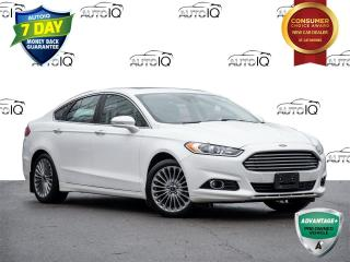 Used 2015 Ford Fusion Titanium CLEAN CARFAX | LEATHER | MOONROOF for sale in St Catharines, ON
