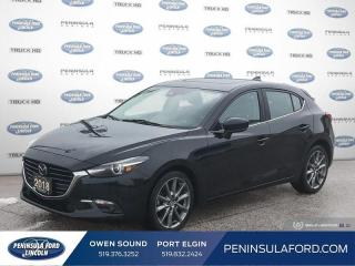 Used 2018 Mazda MAZDA3 GT - Sunroof -  Heated Seats - $128 B/W for sale in Port Elgin, ON
