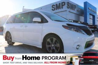 Used 2017 Toyota Sienna SE- Heated Leather, Remote Start, DVD for sale in Saskatoon, SK