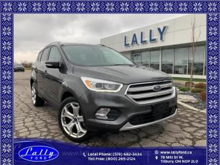 Used 2018 Ford Escape Titanium, AWD, Moonroof, Trailer Tow!! for sale in Tilbury, ON