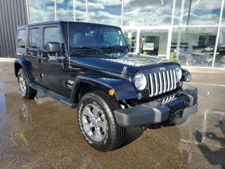 Used 2018 Jeep Wrangler JK Unlimited Sahara 1 OWNER, Remote Start, Heated Seats, NAV!! for sale in Ingersoll, ON