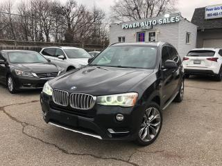 Used 2015 BMW X3 AWD 4DR XDRIVE35I for sale in Brampton, ON