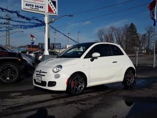Used 2012 Fiat 500 Sport for sale in Welland, ON