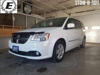 Used 2017 Dodge Grand Caravan Crew FULL STOW-N-GO!! for sale in Barrie, ON