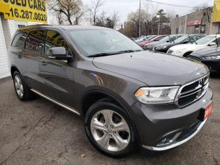 Used 2015 Dodge Durango Limited/AWD/NAVI/LEATHERSUNROOF/CAM/REMOTE START for sale in Scarborough, ON