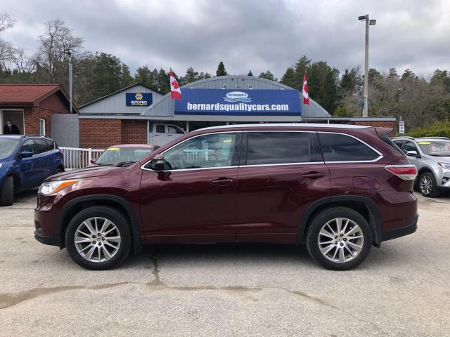 2014 Toyota Highlander XLE LEATHER, NAVIGATION, SUNROOF!