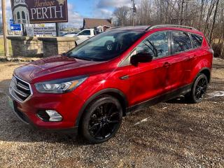 Used 2017 Ford Escape SE Only  80400 km  $76 weekly for sale in Perth, ON