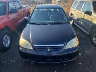 Used 2002 Honda Civic DX/ALLOYS/5 SPEED/PROJECT CAR/AM/FM/CD PLAYER for sale in Scarborough, ON