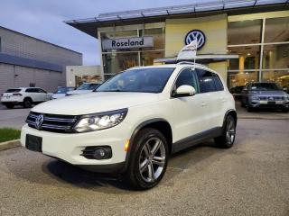 Used 2017 Volkswagen Tiguan Highline 4dr AWD 4MOTION for sale in Burlington, ON