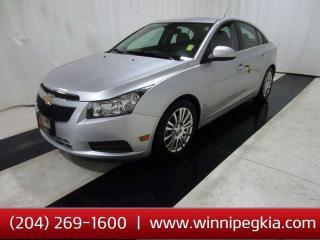 Used 2013 Chevrolet Cruze Eco *Always Owned In MB!* for sale in Winnipeg, MB