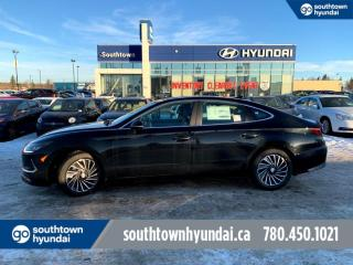 New 2021 Hyundai Sonata Hybrid Ultimate - 1.6T Nav, Heads Up Display, Smart Park Assist, Wireless Charging for sale in Edmonton, AB