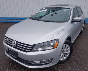 Used 2014 Volkswagen Passat Highline *TDI DIESEL* for sale in Kitchener, ON