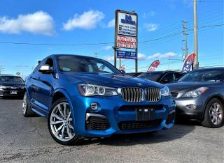 Used 2017 BMW X4 AWD | M40i | Rare | NAV | R cam | Certified for sale in Brampton, ON