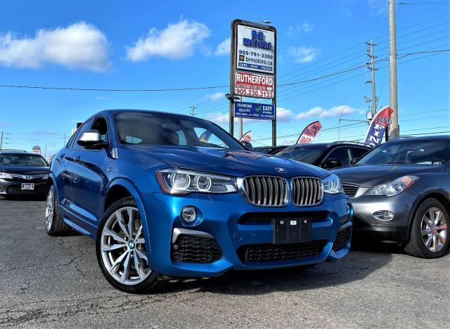 2017 BMW X4 AWD | M40i | Rare | NAV | R cam | Limited colour